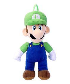 Love this Luigi Plush Backpack on #zulily! #zulilyfinds