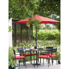 Garden Furniture Homebase mali 6 seater stacking rattan effect garden furniture set - home