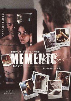 Japanese poster for Memento