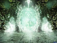 Digital Retro Photo Background Stone Dungeons For Children Photography Studio Backdrop Natural Scenery Mystical World, Studio Backdrops, Theme Background, Natural Scenery, Photo Backgrounds, Children Photography, Deviantart, Instagram, Pulpit