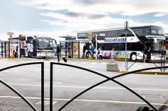 Orioshuttle bus stops in Orio al Serio BGY Airport