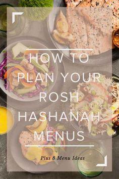 How To Plan Your Rosh Hashanah Menus Plus 8 Different Menu Ideas How To Plan Your Rosh Hashanah Menus With 8 Ideas - Joy of Kosher Vegan Rosh Hashana, Rosh Hashanah Menu, Rosh Hashanah Greetings, Happy Rosh Hashanah, Pavlova, Rosh Hashanah Traditions, Tagine, Mousse, Yom Kippur