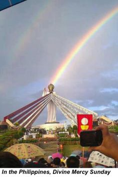 Divine Mercy Sunday in Misamis, Oriental. So many graces god gives in this place.