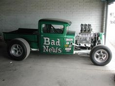 """Bad News""Ford Pick-up  Blown Small Block"