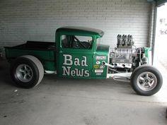 """Bad News""Ford Pick-up  Blown Small Block"