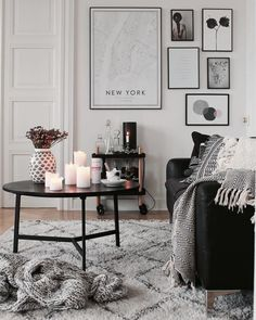 99 Simple Scandinavian Interior Design Ideas For Living Room - - Scandinavian design is all about being calm, simple, pure and yet being fully functional. Scandinavian design emerged in the and became popular . Home Living Room, Interior Design Living Room, Living Room Decor, Design Bedroom, Living Room Inspiration, Interior Design Inspiration, Design Ideas, Style Inspiration, Living Comedor