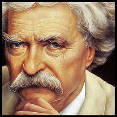 Mark Twain on healthy eating