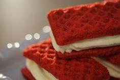 Falsos #Sándwiches #Helados de #RedVelvet