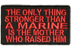 Shop US Marine Corps embroidered patches for Vets. We carry a selection of USMC patches including Globe Eagle and Anchor design of the US Marines. Marine Mom Quotes, Marine Corps Quotes, Usmc Quotes, Marine Memes, Marine Humor, Quotes Quotes, Once A Marine, My Marine, Us Marine Corps