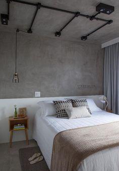 9 splendid modern master bedroom ideas 5 « A Virtual Zone Modern Master Bedroom, Modern Bedroom Design, Interior Design Living Room, Bedroom Designs, Bedroom Ideas, Industrial Bedroom Design, Blue Rooms, Apartment Design, New Room