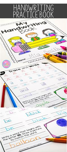 Give your students a chance to develop and perfect their handwriting skills with this cute handwriting booklet. This booklet combines handwriting AND high frequency word practice.