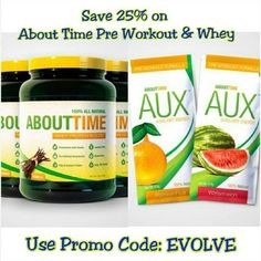 About Time Promo Code: EVOLVE