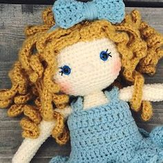 It can be hard to find the right yarn for crochet dolls. There are a lot of shades and styles out there! and it can be hard to find just ...