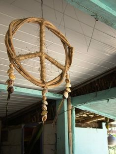 Shell peace wind chime