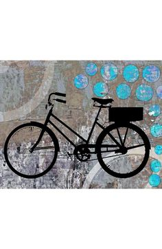 Green Leaf Art School Bicycle Wall Art available at #Nordstrom  - http://www.wocycling.com