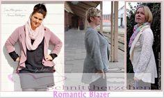 Romantic Blazer 34-50 - Schnittmuster und Nähanleitungen bei Makerist