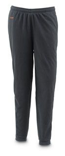 Simms Fishing Products WaderWick™ Fleece Pant to wear on colder days under the waders. $49.95