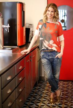 Cool Outfits, Casual Outfits, I Love Fashion, Womens Fashion, Love Jeans, Boyfriend Jeans, Casual Wear, Ideias Fashion, Sexy Women