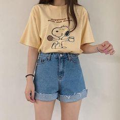 Gorgeous Clothes for casual korean fashion 642 # korean Outfits Teenager Fashion Trends, Teen Fashion Outfits, Mode Outfits, Retro Outfits, Cute Casual Outfits, Fashion Models, Vintage Outfits, Girl Outfits, Fashion Fashion
