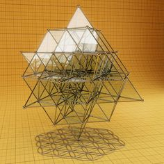 """TheFlower of Lifeand the 64 Tetrahedron grid: the mother and father of the geometry of the fabric space… The flower of life is shown in """"2D"""" in this image and is actually a &#82…"""