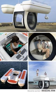 Personal submarine. Awesome
