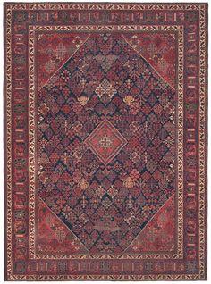 Persian Joshegan rug, x circa Claremont gallery Dark Carpet, Persian Blue, Persian Culture, Persian Carpet, Tribal Rug, Rugs On Carpet, Kilim Rugs, Antiques, Rug Company