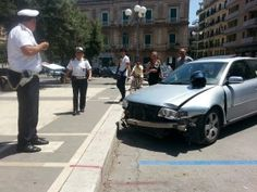 Incidente in piazza Vittorio Emanuele