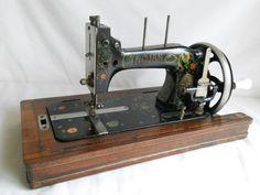 Vintage Trojan / Vesta Sewing Machine circa 1920s www.sewkapow.wordress.com