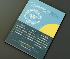 student ministry calendar summer