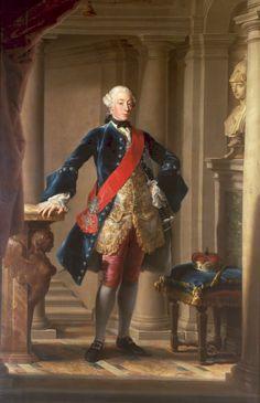 Pompeo Batoni (1708–1787) - Portrait of Charles Eugene, duca di Württemberg (1728-1793)