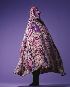 Cape  Emilio Pucci, 1964  The Kyoto Costume Institute