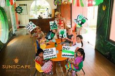 We're kid tested and approved! Check out the kid friendly activities at Sunscape Dorado Pacifico Ixtapa!