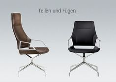 Graph by Wilkhahn, Designers Markus Jehs and Jürgen Laub develop a new, high-end range of conference chairs for Wilkhahn.