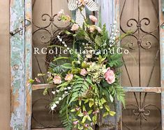 Moss Wreath, Succulent Wreath, Grapevine Wreath, Coastal Wreath, Seashell Wreath, Spring Front Door Wreaths, Fall Wreaths, Pink Wreath, Floral Wreath