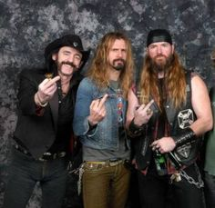 lemmy , rob zombie , zakk wylde... I don't think one picture can handle much more rad.