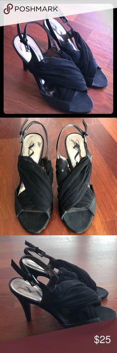 Nina Heels Worn once, very cute shoe! Nina Shoes Heels