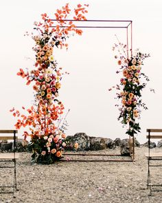 19 Creative Floral Installations to Make Your Wedding Design Wow! – Green Wedding Shoes 19 Creative Floral Installations to Make Your Wedding Design Wow! Floral Wedding Decorations, Wedding Flowers, Wedding Flower Backdrop, Wedding Ceremony Floral Arch, Wildflowers Wedding, Wedding Backdrop Design, Fall Wedding Arches, Cascading Flowers, Rustic Flowers