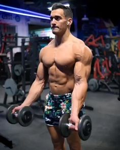 Big Biceps Workout, Bicep And Tricep Workout, Abs And Cardio Workout, Gym Workout Chart, Gym Workout Videos, Gym Workout For Beginners, Dumbbell Workout, Fitness Workouts, Gym Workouts For Men