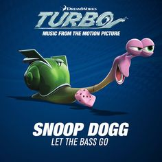 """Snoop Dogg is back today with a brand new track from the upcoming soundtrack for the movie Turbo. The track is called """"Let The Bass Go"""" and finds Snoop taking Shrek, Dreamworks, Upcoming Animated Movies, Just For Gags, Snoop Dogg, News Track, Funny Stories, Funny Images, Funny Photos"""