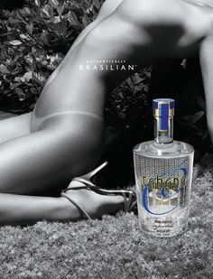 Another ad from controversial campaign. Does it sell liquor?