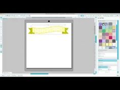 Silhouette Studio Tutorial- changing the color of print and cut files - Katie Jarman