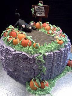 halloween birthday cakes | Halloween Birthday Cake — Animal
