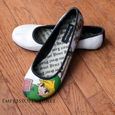 How to paint shoes
