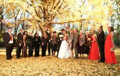 Fall weddings at Travellers Rest in Nashville