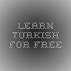 134 best speak to me in turkish images on pinterest in 2018 learn turkish phrases with audio and flashcards by native speakers m4hsunfo