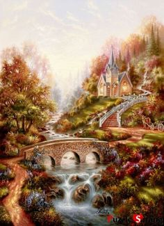Jigsaw-Puzzles-1000-Pieces-The-Melody-of-the-morning