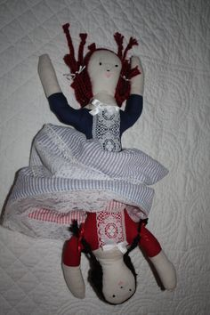 Topsy Turvy Turnabout American Dolls by SherisShoppe on Etsy, $148.00