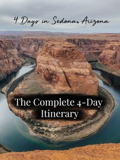 Going to Arizona only for a few days? Here is your complete itinerary for Sedona, Arizona including Horseshoe Bend and the Grand Canyon. Arizona Road Trip, Sedona Arizona, Arizona Travel, New Orleans, New York, Solo Travel, Travel Usa, Oh The Places You'll Go, Places To Travel