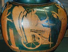 Triptolemus, Demeter and Persephone by the Triptolemos-painter, ca 470 BC