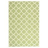 Found it at AllModern - Newport Green / Ivory Geometric Rug Pop of Green in the Kitchen this may work